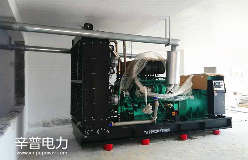 钦州交机一台1000kw通柴发电机组——用于工业园区