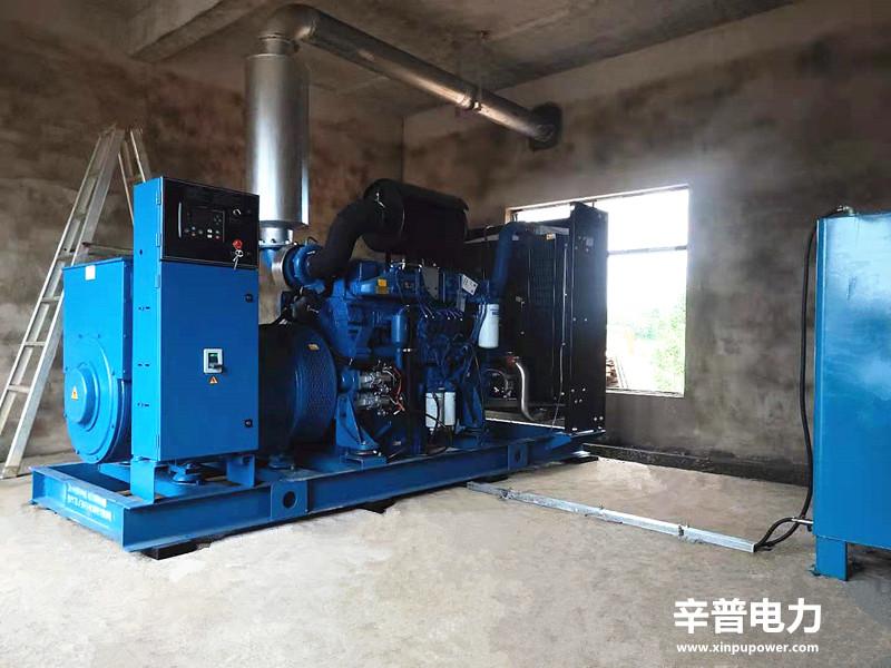 防城港交机一台500KW玉柴发电机组——用于养猪场