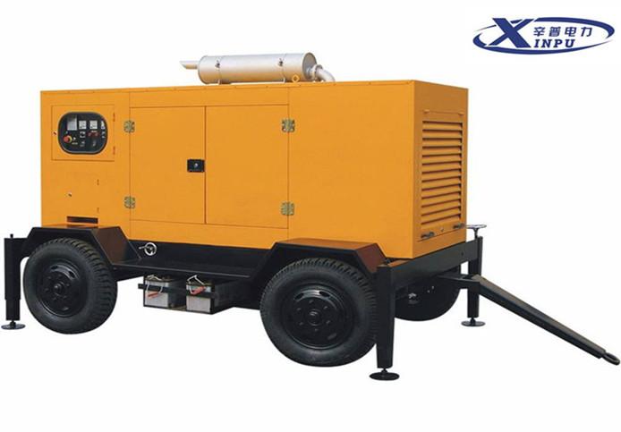 移动拖车型发电机组