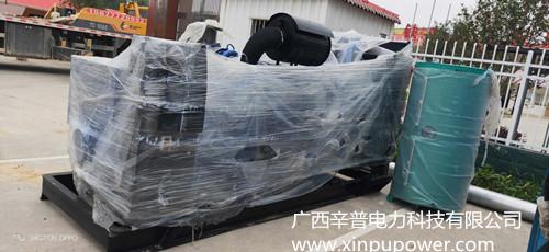 防城港交货一台550KW玉柴发电机组备用电源