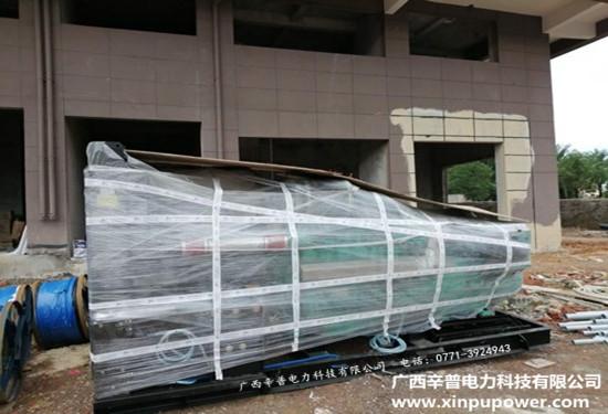 6月2日交机两台500kw、630kw科克发电机组-梧州某房地产