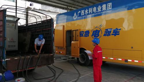 6月21日我司为广西某移动电源做突载测试