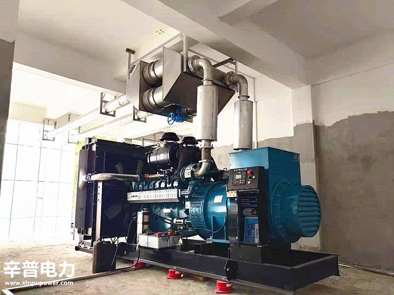隆林交机一台1000KW威曼动力发电机组——用于医院
