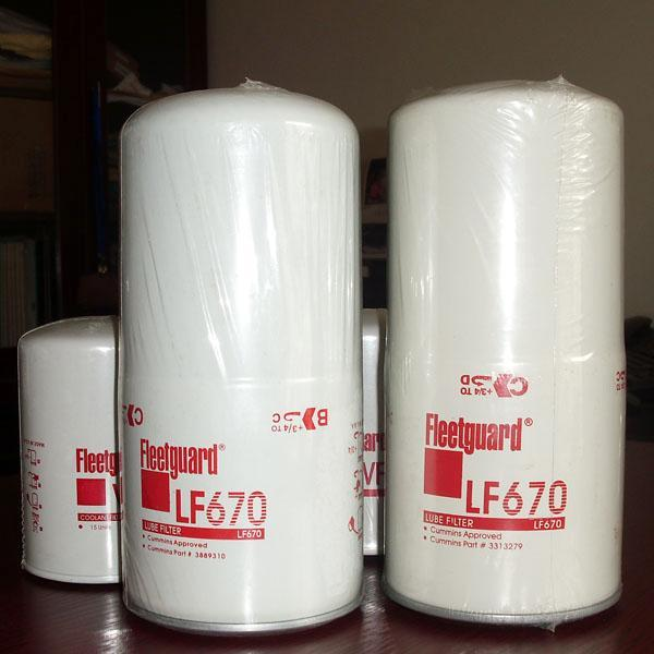 上海弗列加LF670机油滤清器