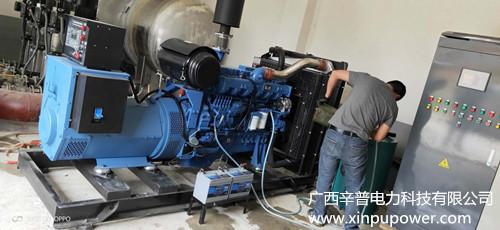 百色某水厂180KW玉柴发电机组一台