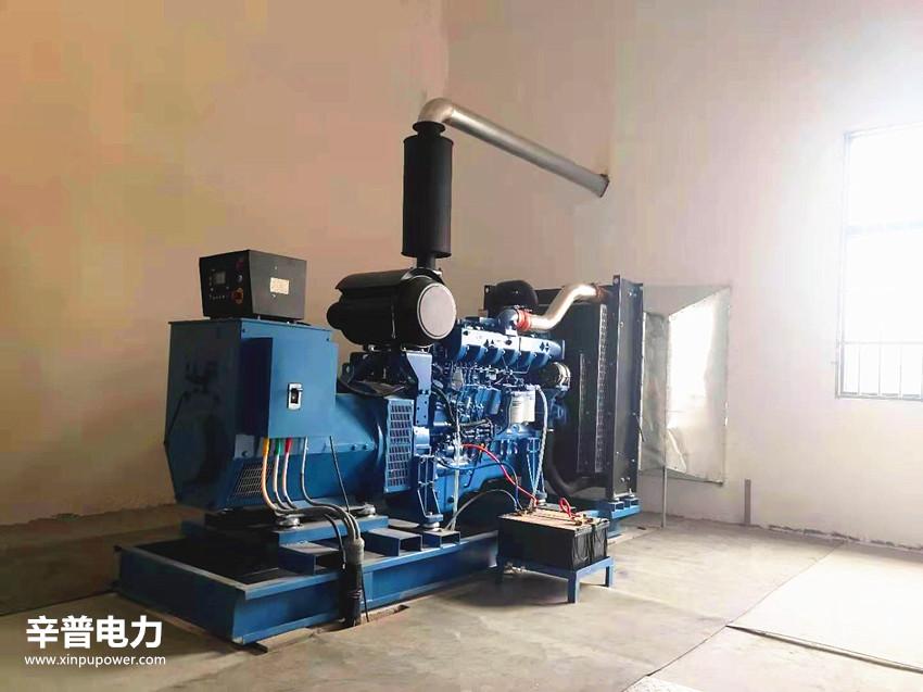 钦州交机一台200KW玉柴发电机组——用于收费站