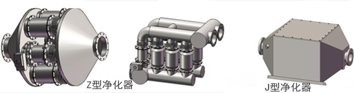 柴油发电机组净化器
