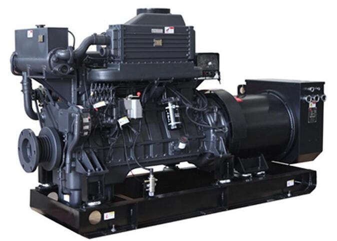 上柴180~300KW船用柴油发电机机组图片