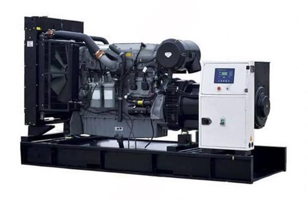 上柴300KW陆用柴油发电机组图片
