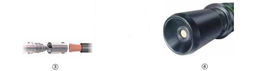16BV单极圆形连接器细节