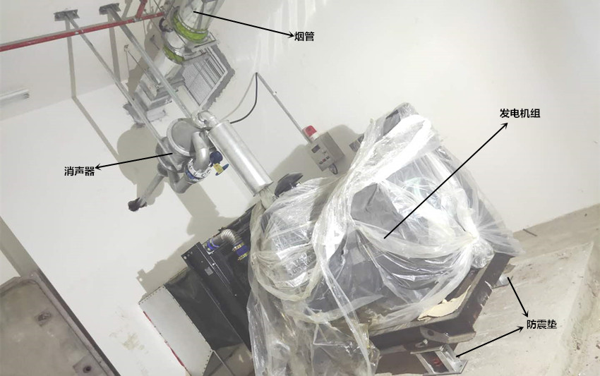 安装一台150kw上柴发电机组