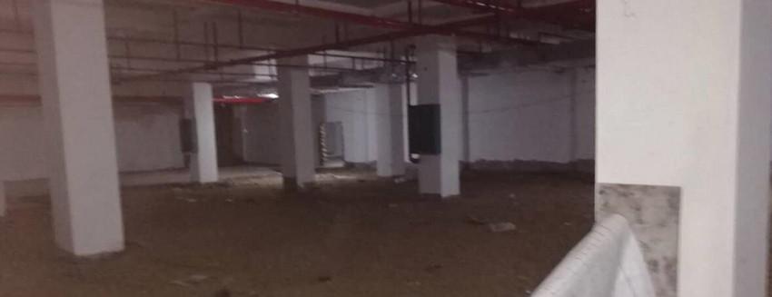 6月26日辛普丁工到百色某医院勘查发电机组机房情况