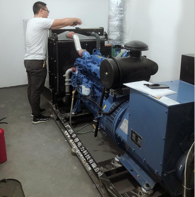 120kw玉柴发电机组图片