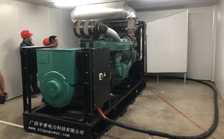 南宁发电机厂出售500kw沃尔沃发电机组