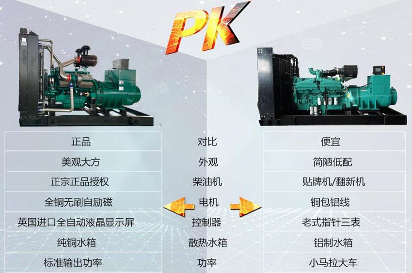 乾能发电机组细节介绍