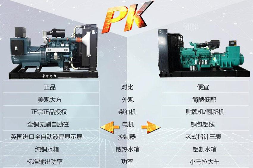 韩国斗山发电机组细节