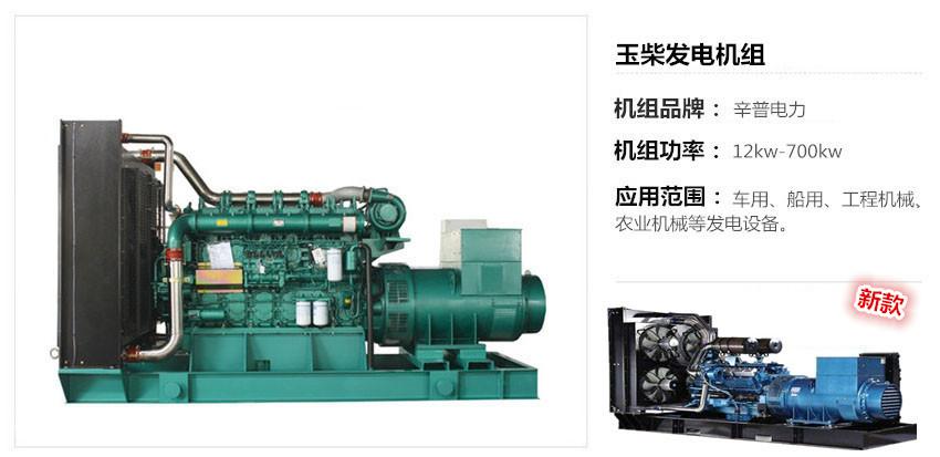 广西玉柴发电机组