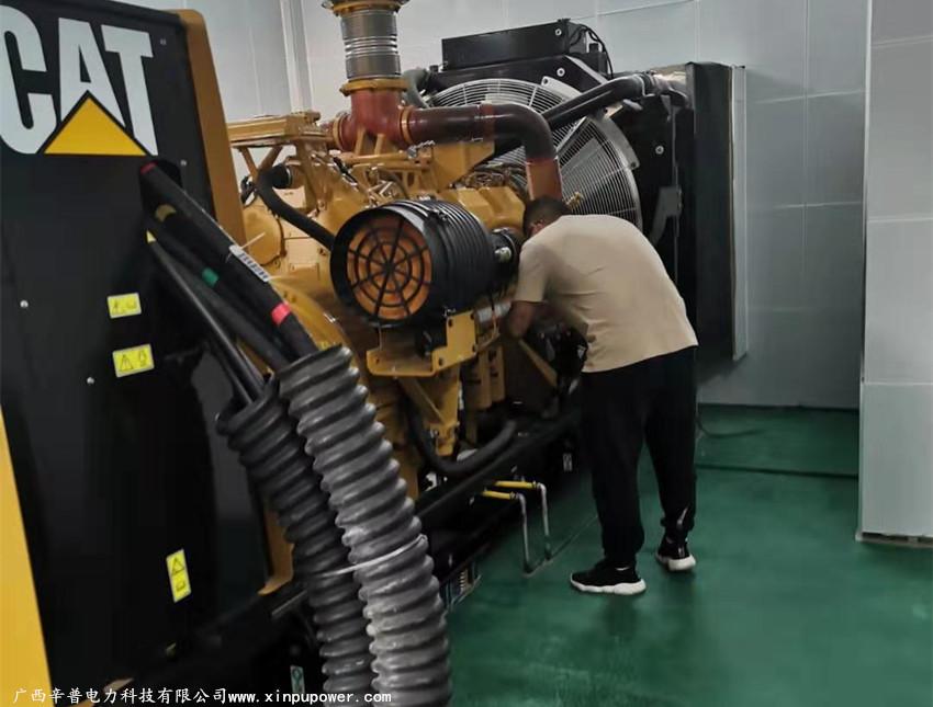 柴油发电机组检查