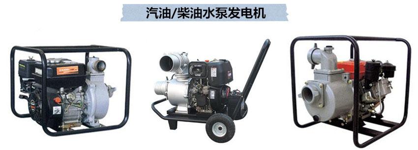 汽油/柴油水泵发电机