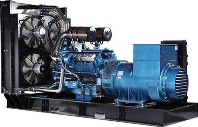 玉柴550kw发电机组
