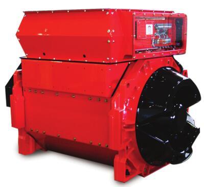 康明斯P80HVSI系列高压发电机