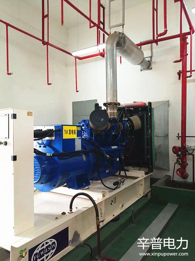 5月14日我司为广西空管分局柴油发电机组做巡检
